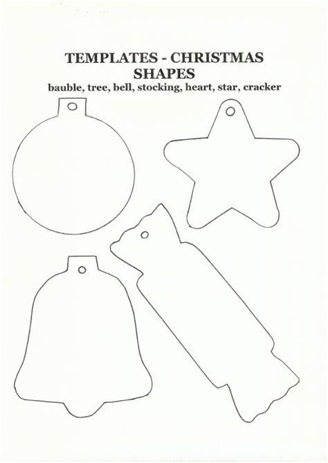 printable christmas ornament shapes plantillas bolas el bagul dels jocs en castellano