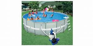 Pompe Piscine Intex 6m3 : piscine hors sol ronde intex ultra frame 5m49 x 1m32 ~ Mglfilm.com Idées de Décoration
