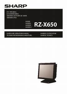 Sharp Rz  Operation Manual
