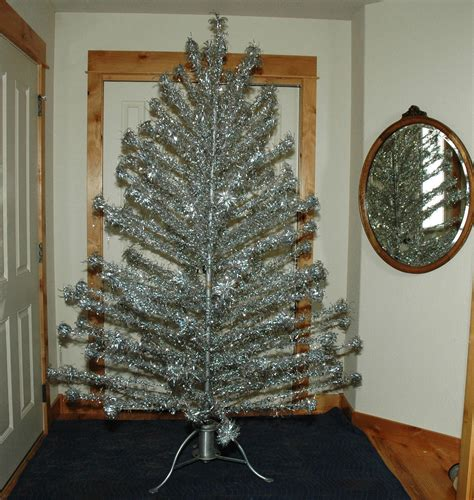 aluminum christmas tree with vintage metal by myheirloomcharms