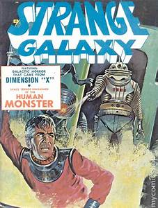 Strange Galaxy  09 April 1971