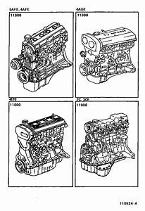 Partial Engine Assembly For 1995