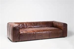 Sofa Leder Vintage : sofa cubetto leder braun ~ Indierocktalk.com Haus und Dekorationen