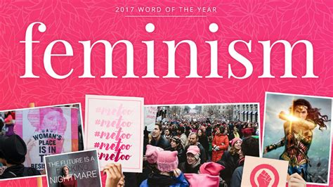 Merriam-webster's Word Of The Year Is 'feminism