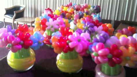 balloon flowers balloon flowers in vases youtube