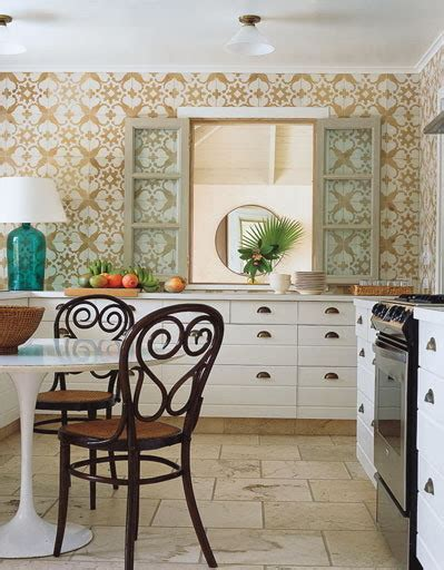 wallpaper in kitchen ideas kitchen decorating ideas vinyl wallpaper for the kitchen