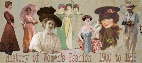 history  womens fashion    glamour daze