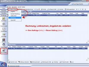 Angebot Rechnung Software : sds kassensysteme auftragsbearbeitung in der warenwirtschaft ~ Themetempest.com Abrechnung