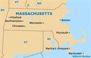 Boston Massachusetts State Map