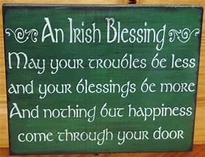 Irish blessings weddings wedding gifts gift primitive for Irish wedding gifts from ireland