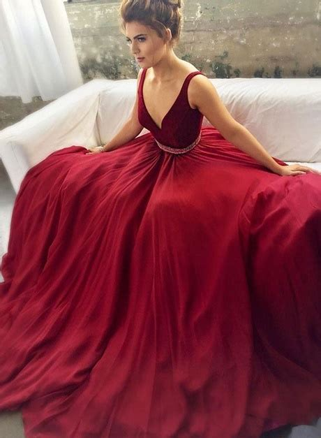 maroon homecoming dresses