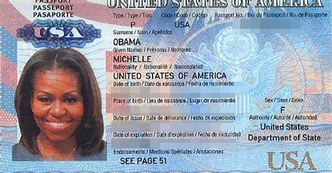 Hackers Leak Copy Of Michelle Obama's Passport, But Is It