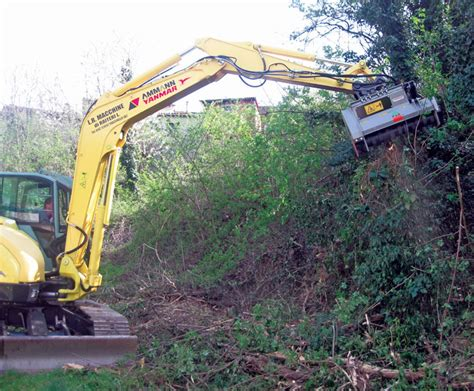 understanding brush cutters  flail mowers  compact excavators compact equipment