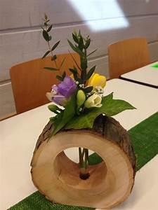 Deko Mit Holzscheiben : tischdeko mit holz tischdeko dekoration holz und basteln ~ Buech-reservation.com Haus und Dekorationen