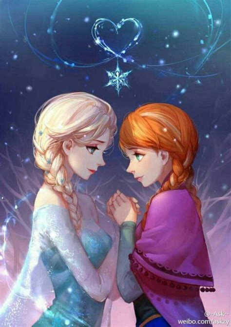 Elsa And Anna Images 冰雪奇缘图片 百度知道