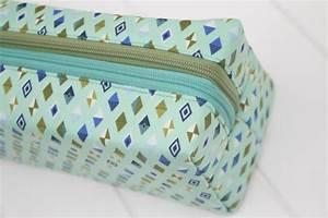 Annex Double-Zip Box Pouch - Sew Sweetness