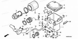 Honda Atv 2006 Oem Parts Diagram For Air Cleaner