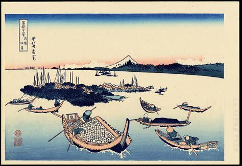 Katsushika Hokusai: Tsukudajima Island - Ohmi Gallery
