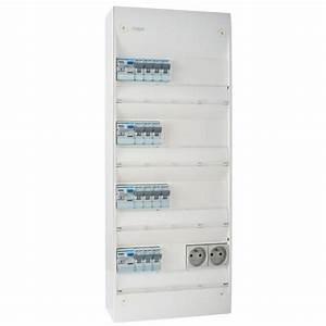 Tableau Electrique 4 Rangées : tableau lectrique pr quip hager 4 rang es 13 modules ~ Dailycaller-alerts.com Idées de Décoration