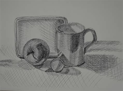 Janet Fish Artwork by Tone And Form Tonal Studies My Drawing Course