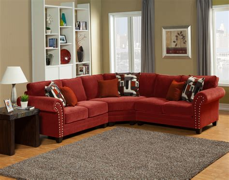 red sectional sofa with recliner sectional sofa design good looking red leather sectional