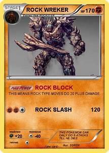 Pokémon ROCK WREKER - ROCK BLOCK - My Pokemon Card