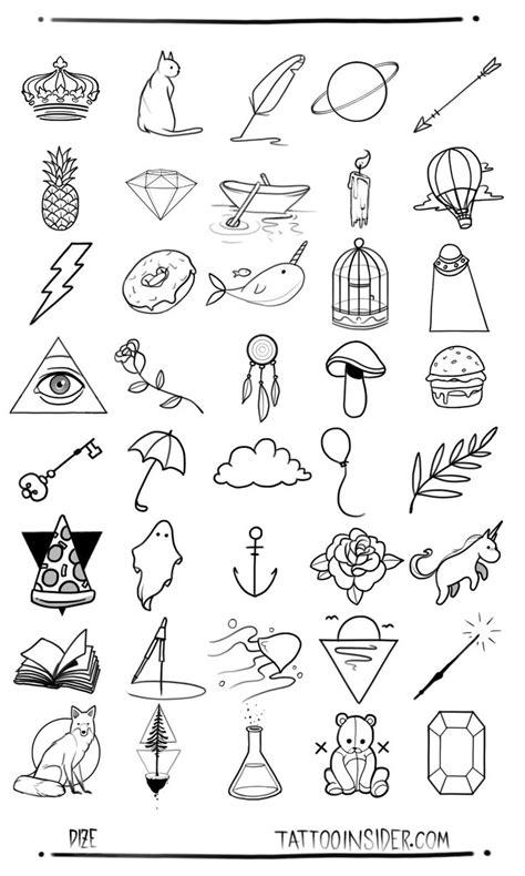 80 Free Small Tattoo Designs - Tattoo Insider | Small girl