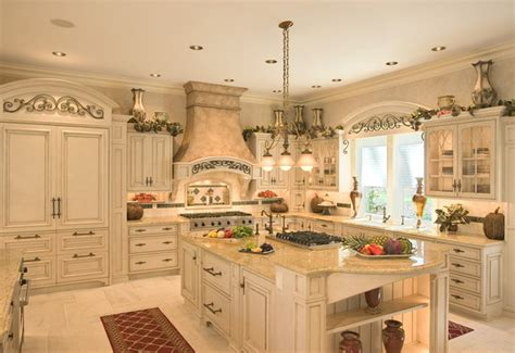 French Colonial Style Kitchen  Mediterranean  Kitchen