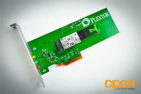 Review Plextor M6e 256GB M2 PCIe SSD  Custom PC Review