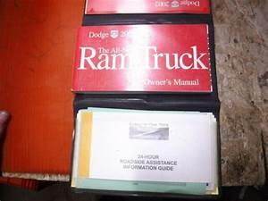 2002 Dodge Ram Truck Factory Owner U0026 39 S Manual Operator U0026 39 S