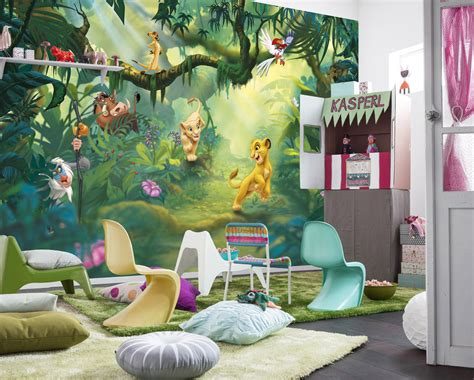 Lion King Wall Mural Photo Wallpaper For Kids & Baby Room