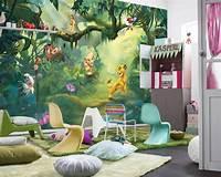 interesting kidsroom wall mural Lion King Wall Mural photo Wallpaper for kids & baby room 368x254cm Disney decor | eBay