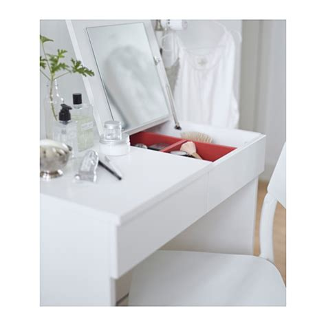 Ikea White Vanity Table by Brimnes Dressing Table White 70x42 Cm Ikea