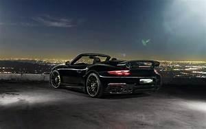 2016 TechArt Porsche 911 Convertible Rear Wallpaper HD