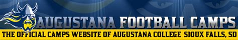 augustana college football camps