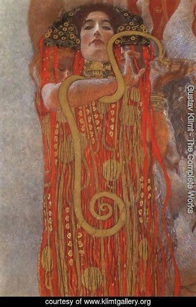 Gustav Klimt The Complete Works Hygieia Detail From