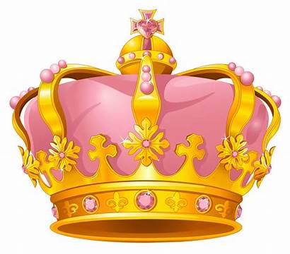 Clipart Crown Gold Pink Clip Hat Party