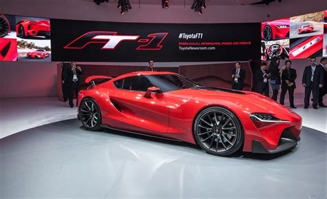 Toyota Ft-1 Concept Photos And Info