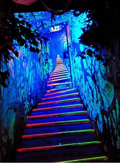Stairs Trippy Trip Painting January Imgur Stunning