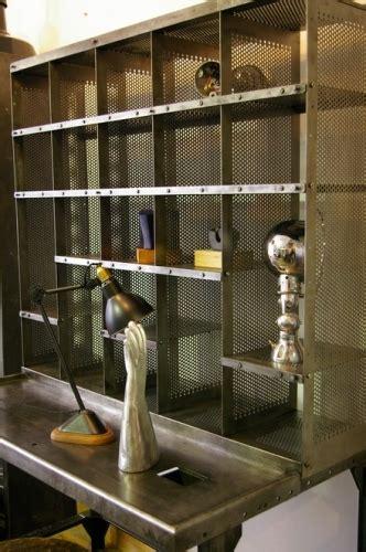 bureau loft industriel meuble metier bureau tri postal industriel atelier loft