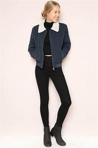 Brandy ♥ Melville | Nelson Fur Jacket - Clothing | New ...