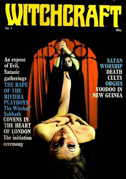 Occult Books Witchcraft Magazine Witch 70s Horror