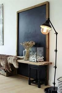 inspiration amenagements pour vos entrees interiors With carrelage adhesif salle de bain avec guirlande guinguette led
