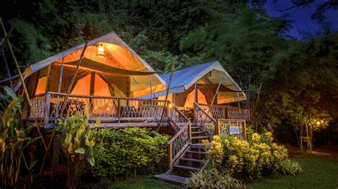 sabes  es el glamping la moda de acampar  glamour