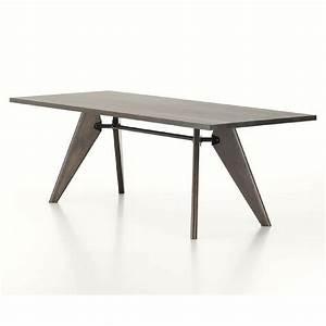 Table Jean Prouvé : jean prouve table solvay palette parlor modern design ~ Melissatoandfro.com Idées de Décoration
