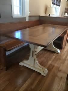 Double Pedestal Farmhouse Table Ana White
