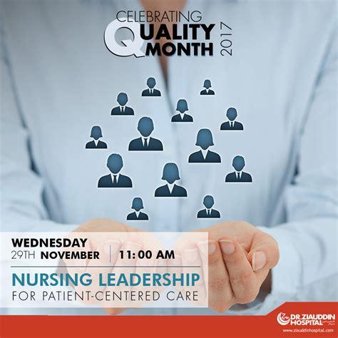 nursing leadership  patient centered care dr