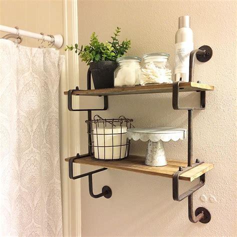 awesome diy bathroom shelves ideas