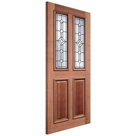 Hardwood Doors by Lpd Adoorable Derby Hardwood External Door Leader Doors