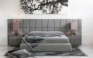 Tete De Lit Moderne : t te de lit moderne 25 belles id es pour chambre coucher ~ Teatrodelosmanantiales.com Idées de Décoration